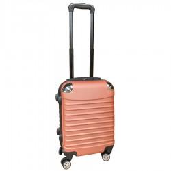Travelerz handbagage koffer met wielen 27 liter - lichtgewicht - cijferslot - Zalmroze