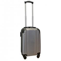 Travelerz handbagage koffer met wielen 27 liter - lichtgewicht - cijferslot - zilver (168)