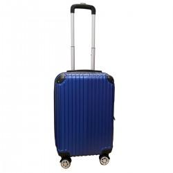 Travelerz handbagage koffer met wielen 39 liter - lichtgewicht - cijferslot - blauw (1627)