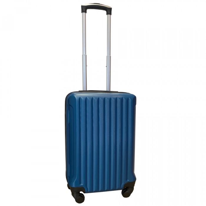 Travelerz handbagage koffer met wielen 39 liter - lichtgewicht - cijferslot - blauw (9204)
