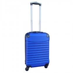 Travelerz handbagage koffer met wielen 39 liter - lichtgewicht - cijferslot - blauw