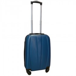 Travelerz handbagage koffer met wielen 39 liter - lichtgewicht - cijferslot - blauw (8986)