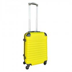 Travelerz handbagage koffer met wielen 39 liter - lichtgewicht - cijferslot - geel
