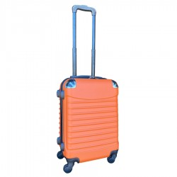 Travelerz handbagage koffer met wielen 39 liter - lichtgewicht - cijferslot - oranje