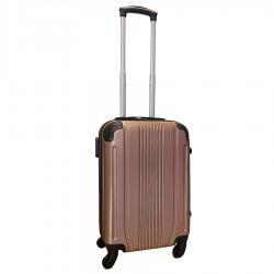Travelerz handbagage koffer met wielen 39 liter - lichtgewicht - cijferslot - rose goud (168)