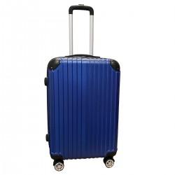 Travelerz reiskoffer met wielen 54 liter - lichtgewicht - cijferslot - blauw (1627)