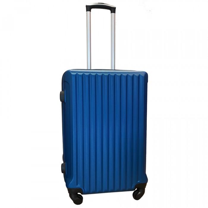 Travelerz reiskoffer met wielen 54 liter - lichtgewicht - cijferslot - blauw (9204)