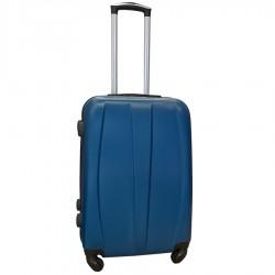 Travelerz reiskoffer met wielen 54 liter - lichtgewicht - cijferslot - blauw (8986)