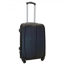 Travelerz reiskoffer met wielen 54 liter - lichtgewicht - cijferslot - zwart (8986)