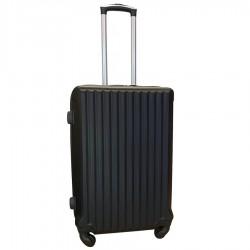 Travelerz reiskoffer met wielen 54 liter - lichtgewicht - cijferslot - zwart (9204)