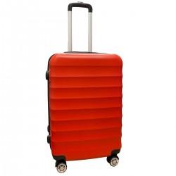 Travelerz reiskoffer met wielen 54 liter - lichtgewicht - cijferslot - rood (1515)