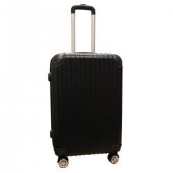 Travelerz reiskoffer met wielen 54 liter - lichtgewicht - cijferslot - zwart (1627)
