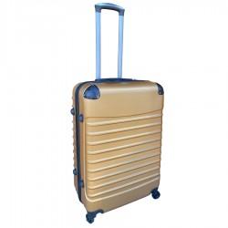 Travelerz reiskoffer met wielen 69 liter - lichtgewicht - cijferslot - goud