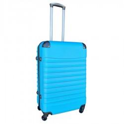Travelerz reiskoffer met wielen 69 liter - lichtgewicht - cijferslot licht blauw