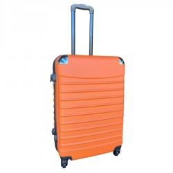 Travelerz reiskoffer met wielen 69 liter - lichtgewicht - cijferslot - oranje