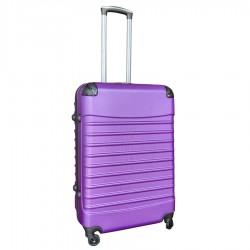 Travelerz reiskoffer met wielen 69 liter - lichtgewicht - cijferslot - paars
