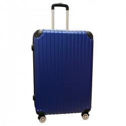 Travelerz reiskoffer met wielen 95 liter - lichtgewicht - cijferslot - blauw (1627)
