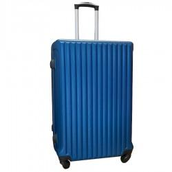Travelerz reiskoffer met wielen 95 liter - lichtgewicht - cijferslot - blauw (9204)