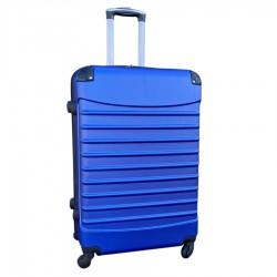 Travelerz reiskoffer met wielen 95 liter - lichtgewicht - cijferslot - blauw