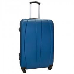 Travelerz reiskoffer met wielen 95 liter - lichtgewicht - cijferslot - blauw (8986)