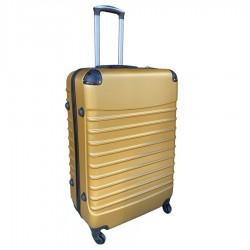 Travelerz reiskoffer met wielen 95 liter - lichtgewicht - cijferslot - goud