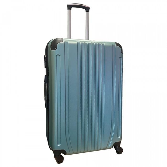 Travelerz reiskoffer met wielen 95 liter - lichtgewicht - cijferslot - groen (168)