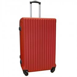 Travelerz reiskoffer met wielen 95 liter - lichtgewicht - cijferslot - rood (9204)