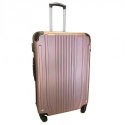 Travelerz reiskoffer met wielen 95 liter - lichtgewicht - cijferslot - rose goud (168)