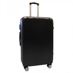 Travelerz reiskoffer met wielen 95 liter - lichtgewicht - cijferslot - zwart (168)