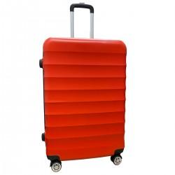 Travelerz reiskoffer met wielen 95 liter - lichtgewicht - cijferslot - rood (1515)