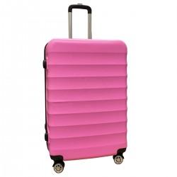 Travelerz reiskoffer met wielen 95 liter - lichtgewicht - cijferslot - roze (1515)