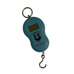 Digitale kofferweegschaal blauw tot 50kg met automatische lock functie