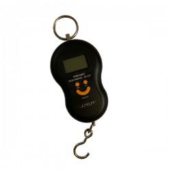 Digitale kofferweegschaal zwart tot 50kg met automatische lock functie
