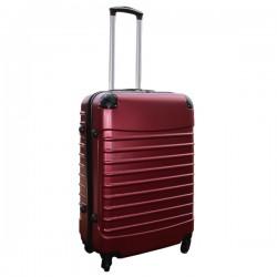 Travelerz reiskoffer met wielen 54 liter - lichtgewicht - cijferslot - bordeauxrood