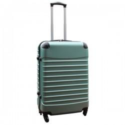 Travelerz reiskoffer met wielen 54 liter - lichtgewicht - cijferslot - groen