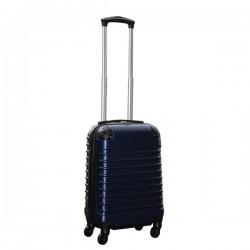 Travelerz handbagage koffer met wielen 27 liter - lichtgewicht - cijferslot - donker blauw