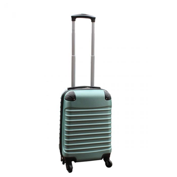 Travelerz kofferset 4 delig ABS - zwenkwielen - met cijferslot - groen