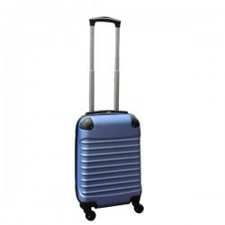 Travelerz handbagage koffer met wielen 27 liter - lichtgewicht - cijferslot - licht blauw