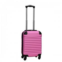 Travelerz handbagage koffer met wielen 27 liter - lichtgewicht - cijferslot - licht roze