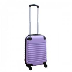 Travelerz handbagage koffer met wielen 27 liter - lichtgewicht - cijferslot - lila