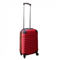 Travelerz handbagage koffer met wielen 27 liter - lichtgewicht - cijferslot - rood