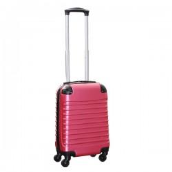 Travelerz handbagage koffer met wielen 27 liter - lichtgewicht - cijferslot - roze