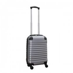 Travelerz handbagage koffer met wielen 27 liter - lichtgewicht - cijferslot - zilver