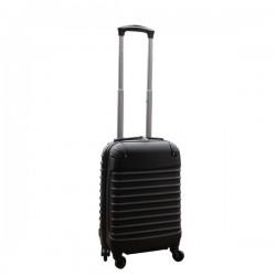 Travelerz handbagage koffer met wielen 27 liter - lichtgewicht - cijferslot - zwart
