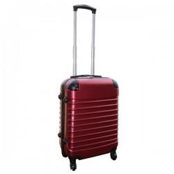 Travelerz handbagage koffer met wielen 39 liter - lichtgewicht - cijferslot - bordeauxrood