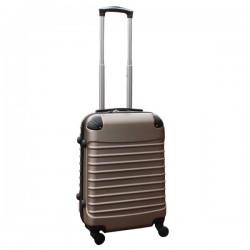 Travelerz handbagage koffer met wielen 39 liter - lichtgewicht - cijferslot - champagne