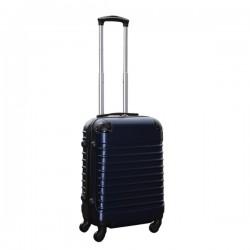 Travelerz handbagage koffer met wielen 39 liter - lichtgewicht - cijferslot - donker blauw