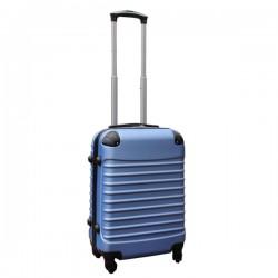Travelerz handbagage koffer met wielen 39 liter - lichtgewicht - cijferslot - licht blauw