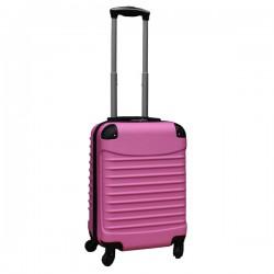 Travelerz handbagage koffer met wielen 39 liter - lichtgewicht - cijferslot - licht roze