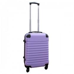 Travelerz handbagage koffer met wielen 39 liter - lichtgewicht - cijferslot - lila